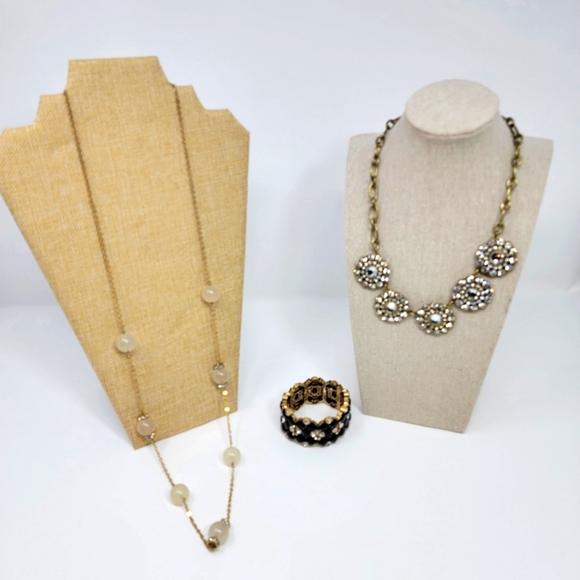 J. Crew Necklaces and Bracelet, Excellent